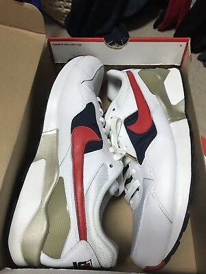 79ffd843bb9b NIKE AIR PEGASUS 92 olympic premium USAOlympics White Red Navy blue ...