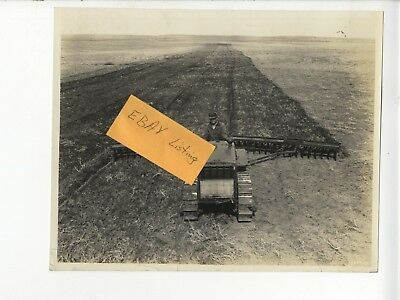 1937 Caterpillar Twenty-Two Tractor John Deere Disk Original Cat Factory Photos