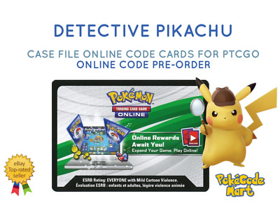 Detective Pikachu Case File Pokemon Online Codes for PTCGO Fast E-Delivery
