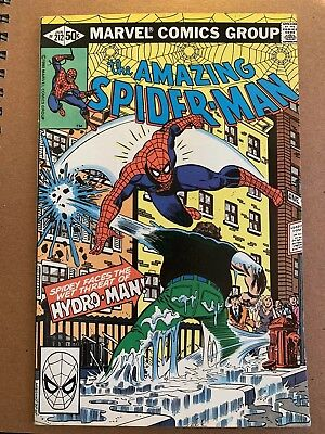 Amazing Spider-Man #212 1St Hydro-Man! High Grade! Far From Home
