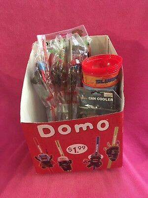 Slurpee Domo Lot Cups Straws Shirt Exclusive Rare Box 7 11 Seven Eleven