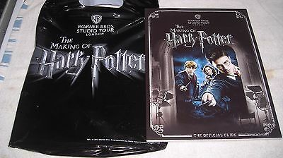 Harry Potter Studio Guide Book With Bag