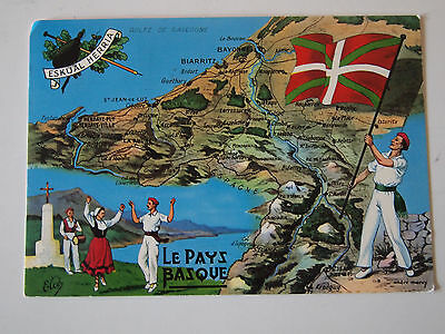 CPA France Pays Basque 1973