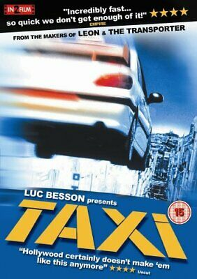 Taxi [1998] [DVD] - DVD  CUVG The Cheap Fast Free Post
