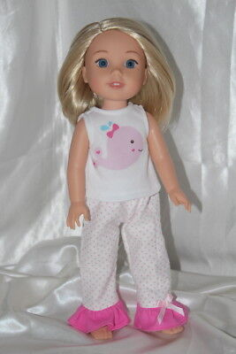 Dress Outfit fits 14inch American Girl Wellie Wishers Doll Clothes