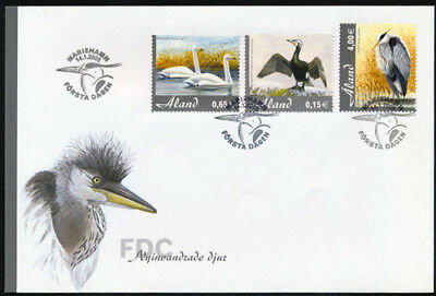 Aland 2005 Newly Immigrated Bird Species FDC