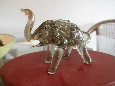 Fitz and Floyd Glass Menagerie / Elephant (2004) Mint in Original Box