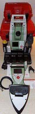 Leica Total Station TS15 I  R1000  CS15 Robotic Calibrated Free Shipping