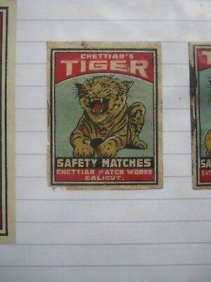 Old Indian Matchbox Label.design 2.
