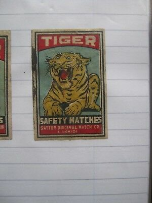 Old Indian Matchbox Label.design 3.