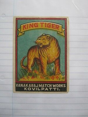 Old Indian Packet Size Matchbox Label.design 3.