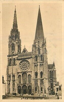 Cp Chartres Cathedrale - B 6884