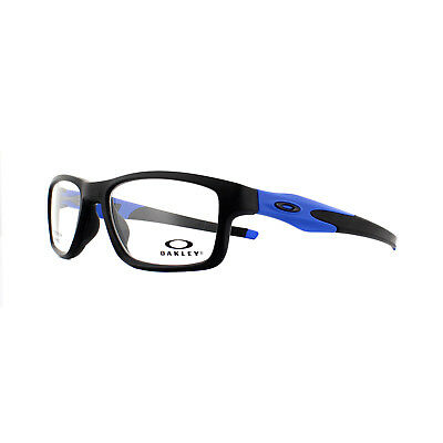 5f6e43f369 Oakley Glasses Frames Crosslink Trubridge OX8090-09 Black Blue 53mm