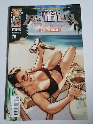 Tomb Raider #50 (March 2005) Final Issue, Cover by Adam Hughes.