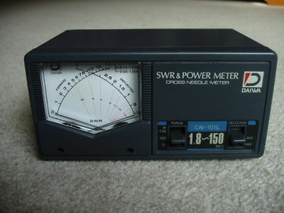 Daiwa model CN-101L SWR & Power Meter