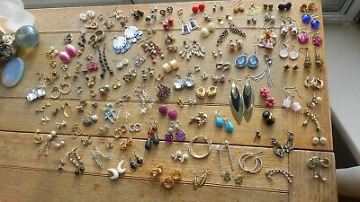 Superb Selection Of Vintage Paired Earings,used & Have Been Worn,but Amazing Lot