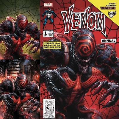 VENOM #1 ANNUAL CLAYTON CRAIN Variant Set (3 Covers) ***IN STOCK!*** Red Hot!!