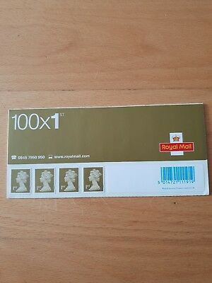 100 1st class stamps brand new- peel and stick COLLECTION!