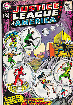 Justice League Of America #16 DC Comics 1960s Julius Schwartz VG