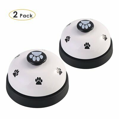 2 Pack Pet Puppy Dog Cat Training Bells Meal Bells Training Communication Device