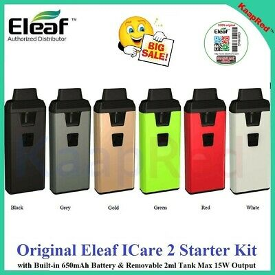 Original E3leaf ICare 2 Starter Kit with Built-in 650mAh & 2ml T ank Max 15W IC