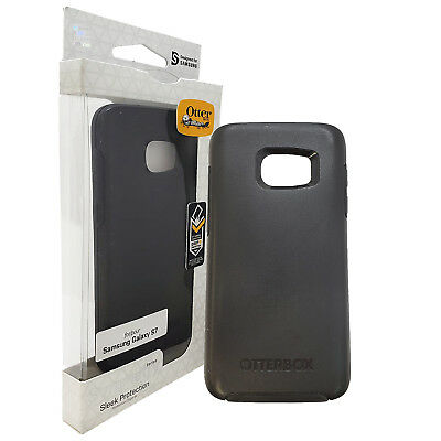 Otterbox Symmetry Series Case for Samsung S7, Black Cover