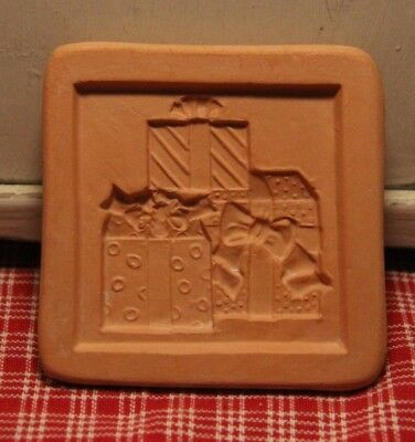 "Vintage Cotton Press ""Love is the Greatest Gift"" Cookie Press! 2 1/2 x 2 1/2"