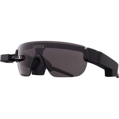 Solos Smart Glasses, Black 33-00045-00 w/ Widescreen Display, Microphone, Vista