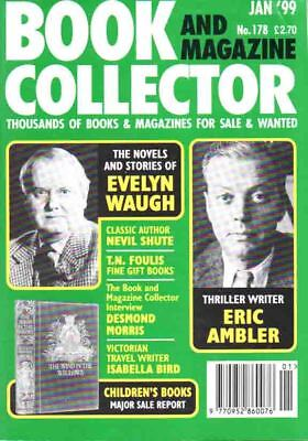 Book Collector Magazine 178 Jan 1999 - Evelyn Waugh Eric Ambler Nevil Shute +++