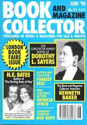 Book Collector Magazine 171 Jun 1998 - H E Bates Dorothy L Sayers Bob Hope +++