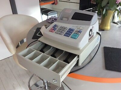 Sharp Electronic Cash Register XE-A101.  Used.
