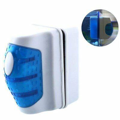 Magnetic Brush Aquarium Fish Tank Glass Algae Scraper Cleaner Floating Curve IDE