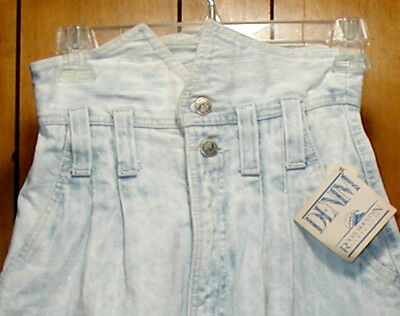 Rocky Mountain Vintage High Waisted Shorts Acid Wash Striped with tag