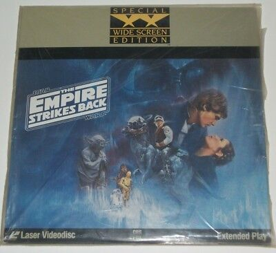 Star Wars THE EMPIRE STRIKES BACK LaserDisc 2-Disc Widescreen EXTENDED PLAY