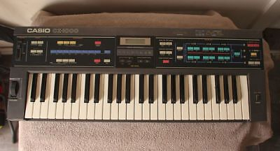CASIO CZ-1000 MIDI Phase Distortion Cosmo Synthesizer Keyboard Synth - From  80s