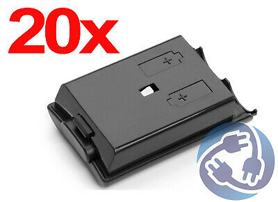 20x Black Replacement Battery Pack Cover Shell Xbox 360 Wireless Controller