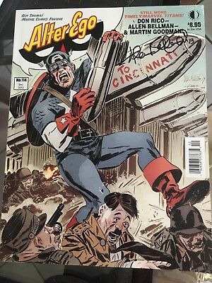 Alter Ego #114 signed by Allen Bellman Timely Comics Artist