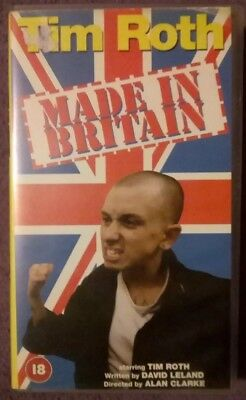 Made In Britain - Tim Roth - VHS Tape. Skinhead.