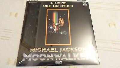 LASER DISC FILM   MOON WALKER  MICHAEL JACKSON  still sealed like new