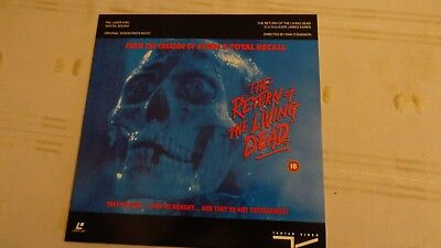 Laser Disc Film   The Return Of The Living Dead