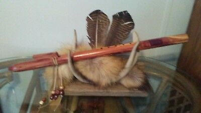 Native American Style Flute Key of E in Red Cedat
