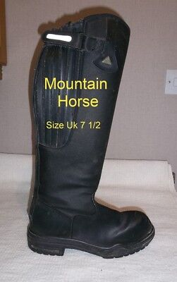 Thermolite MOUNTAIN HORSE long boots..Size 7 1/2 (41).normal calf KEEP FEET WARM