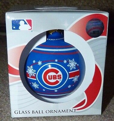 CHICAGO CUBS SNOWFLAKE CHRISTMAS ORNAMENT WORLD SERIES CHAMPS WRIGLEY flytheW !!