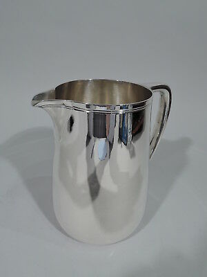 Tiffany Water Pitcher - 22343 - Midcentury Modern - American Sterling Silver