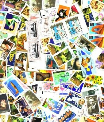 200 NEW 55c POSTAGE RATE 3 STAMP COMBOS  WAY BELOW $110.00 FACE