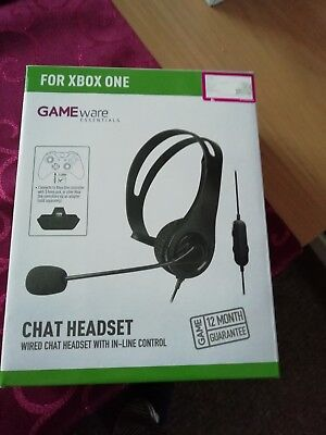 XBox One Gaming Chat Headset Recon Wired -  BRAND NEW