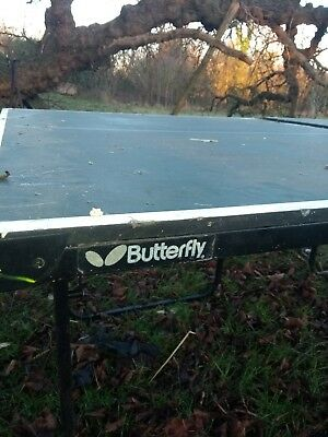 Butterfly table tennis table 3/4 size. Good condition