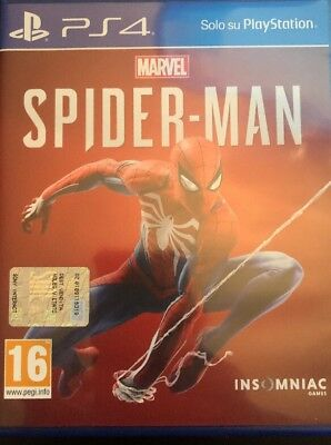 marvel's spider-man per PS4 come nuovo!!!!