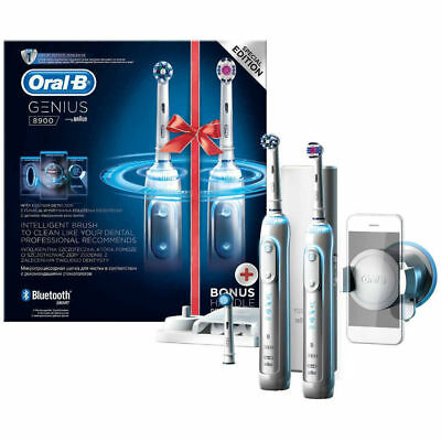 Oral-B Genius Pro 8900 Rechargeable Toothbrush two Rechargeable Toothbrush..