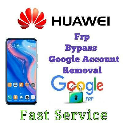 Remote Google Account Removal/Reset FRP  For Huawei